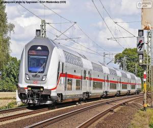 Puzle Intercity IC 2, Alemanha