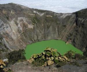 Puzle Irazu vulcão, Chile