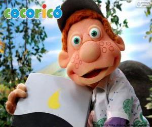 Puzle Júlio, o menino da Fazenda Cocoricó