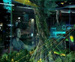 Puzle Jake Sully eo coronel Quaritch estudar a árvore-mãe