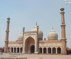 Puzle Jama Masjid, Índia