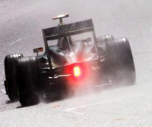 Puzle Jarno Trulli - Lotus - Spa-Francorchamps 2010