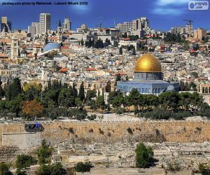 Puzle Jerusalém, Israel