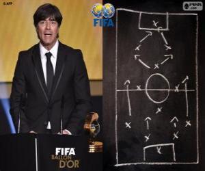 Puzle Joachim Loew treinador de futebol masculino da FIFA 2014