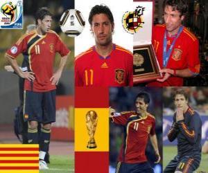 Puzle Joan Capdevila (A inflamáveis), a defesa da equipe espanhola