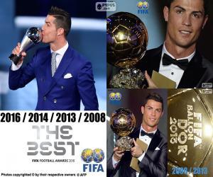 Puzle Jogador do prêmio FIFA 2016