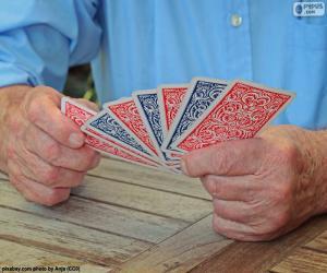 Puzle Jogo de cartas