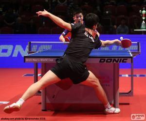 Puzle Jogo de tênis de mesa ou ping-pong