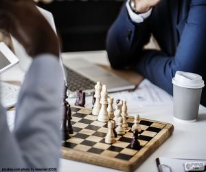 Puzle Jogo de xadrez