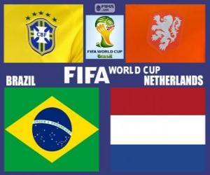 Puzle Jogo para o 3º lugar, Brasil 2014, Brasil vs Holanda