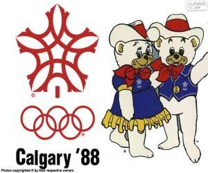 Puzle Jogos Olímpicos Calgary 1988
