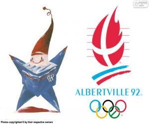 Puzle Jogos Olímpicos de Albertville 1992