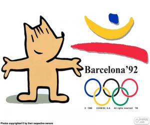 Puzle Jogos Olímpicos de Barcelona 1992