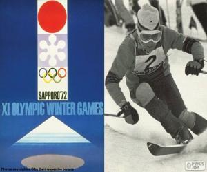 Puzle Jogos Olímpicos de Inverno de 1972