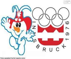 Puzle Jogos Olímpicos de Inverno Innsbruck 1976