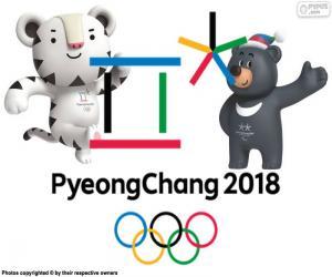Puzle Jogos Olímpicos de Inverno PyeongChang 2018