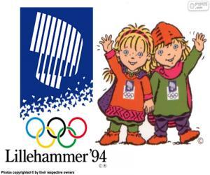Puzle Jogos Olímpicos de Lillehammer 1994