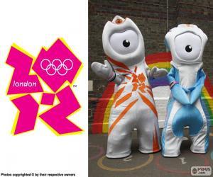 Puzle Jogos Olímpicos de Londres 2012