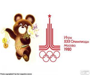 Puzle Jogos Olímpicos de Moscou 1980