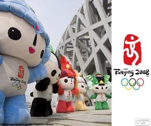Puzle Jogos Olímpicos de Pequim 2008