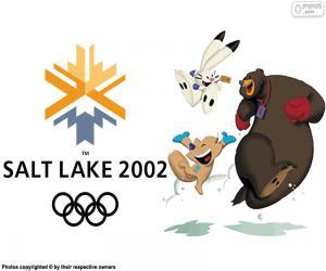Puzle Jogos Olímpicos de Salt Lake City 2002