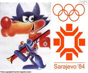 Puzle Jogos Olímpicos de Sarajevo 1984