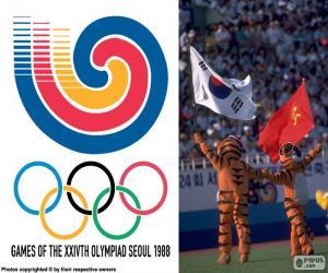 Puzle Jogos Olímpicos de Seul 1988