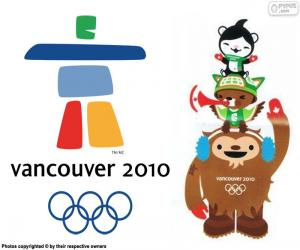 Puzle Jogos Olímpicos de Vancouver 2010