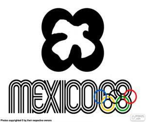 Puzle Jogos Olímpicos do México 1968