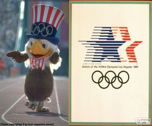 Puzle Jogos Olímpicos Los Angeles 1984