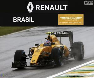 Puzle Jolyon Palmer, GP do Brasil 2016