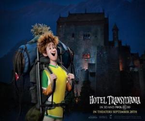 Puzle Jonathan, o jovem viajante que chega ao Hotel