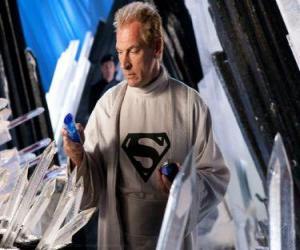 Puzle Jor-El de Krypton cientistas e líderes e pai biológico de Superman.
