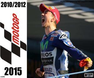 Puzle Jorge Lorenzo, MotoGP 2015
