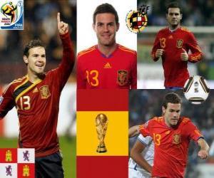 Puzle Juan Mata (O tornozelo Magic) atacante da seleção espanhola