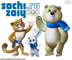 Puzle Juegos Olímpicos de Sochi 2014