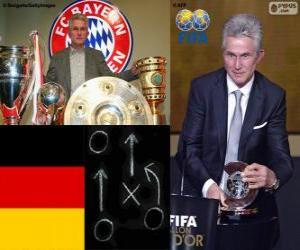 Puzle Jupp Heynckes treinador de futebol masculino da FIFA 2013