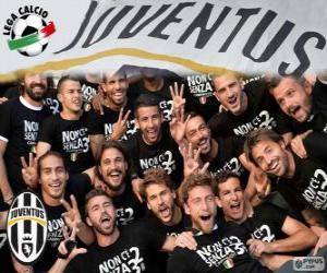 Puzle Juventus campeão 2013-20014