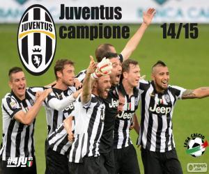 Puzle  Juventus campeão 2014-20015