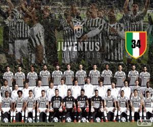 Puzle Juventus campeão 2015-20016