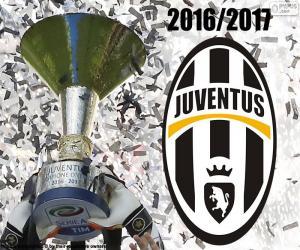 Puzle Juventus, campeão de 2016-2017