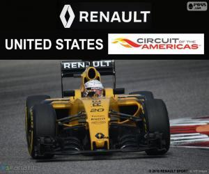 Puzle K. Magnussen, GP Estados Unidos 16