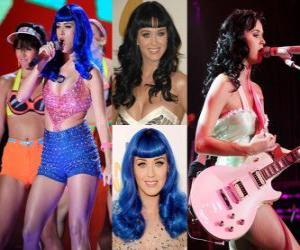 Puzle Katy Perry é uma cantora e compositora.