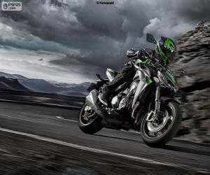 Puzle Kawasaki Z1000 2014