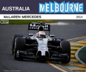 Puzle Kevin Magnussen - McLaren - GP da Austrália 2014, 2º classificado
