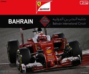 Puzle Kimi Räikkönen GP do Bahrein 2016
