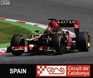 Puzle Kimi Räikkönen - Lotus - Grand Prix da Espanha 2013, 2º classificado