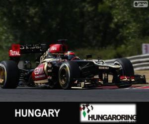 Puzle Kimi Räikkönen - Lotus - Grande Prêmio da Hungria 2013, 2º classificado
