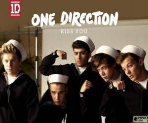 Puzle Kiss You, One Direction