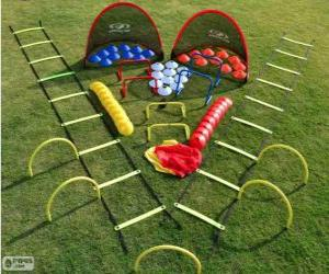 Puzle Kit de treinamento de futebol